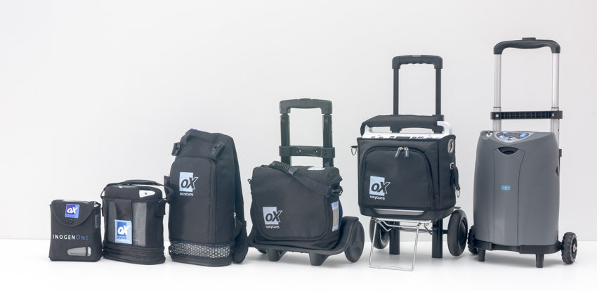 oxycure concentrateurs portables